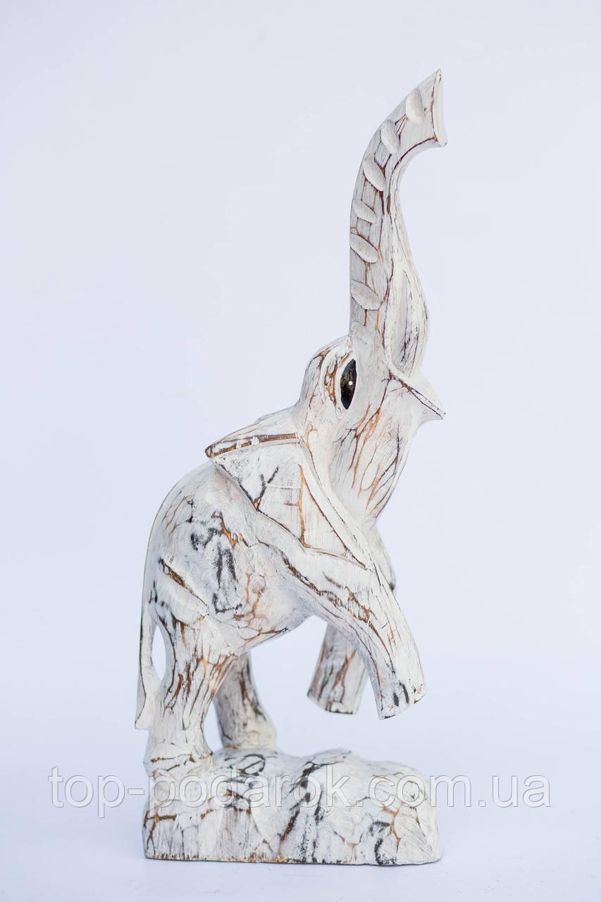 Слон деревянный размер 43*18 см