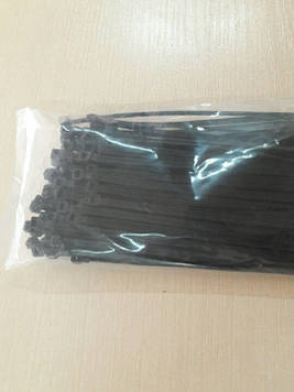 Хомути кабельні RIGHT HAUSEN 200 х 3,6 мм чорні