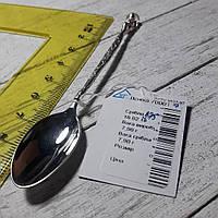 Серебряная подарочная (кофейная) ложка Ангелочек. 7,8 грамм
