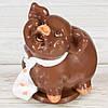 """Шоколадная фигура """"Свинка Мальчик"""" (молочный) КЛАССИЧЕСКОЕ сырье. Размер:115х95х125мм, вес 680г"""