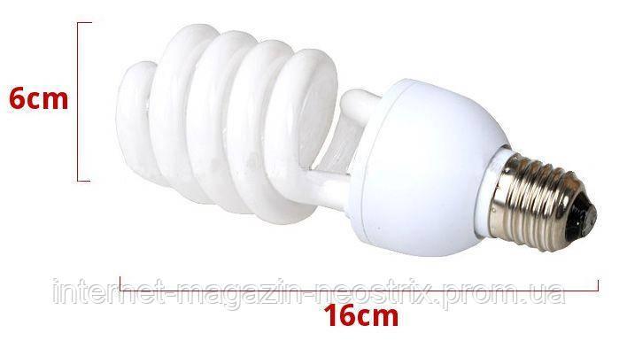 Лампа постоянного света для E27 45W/250W 5500K