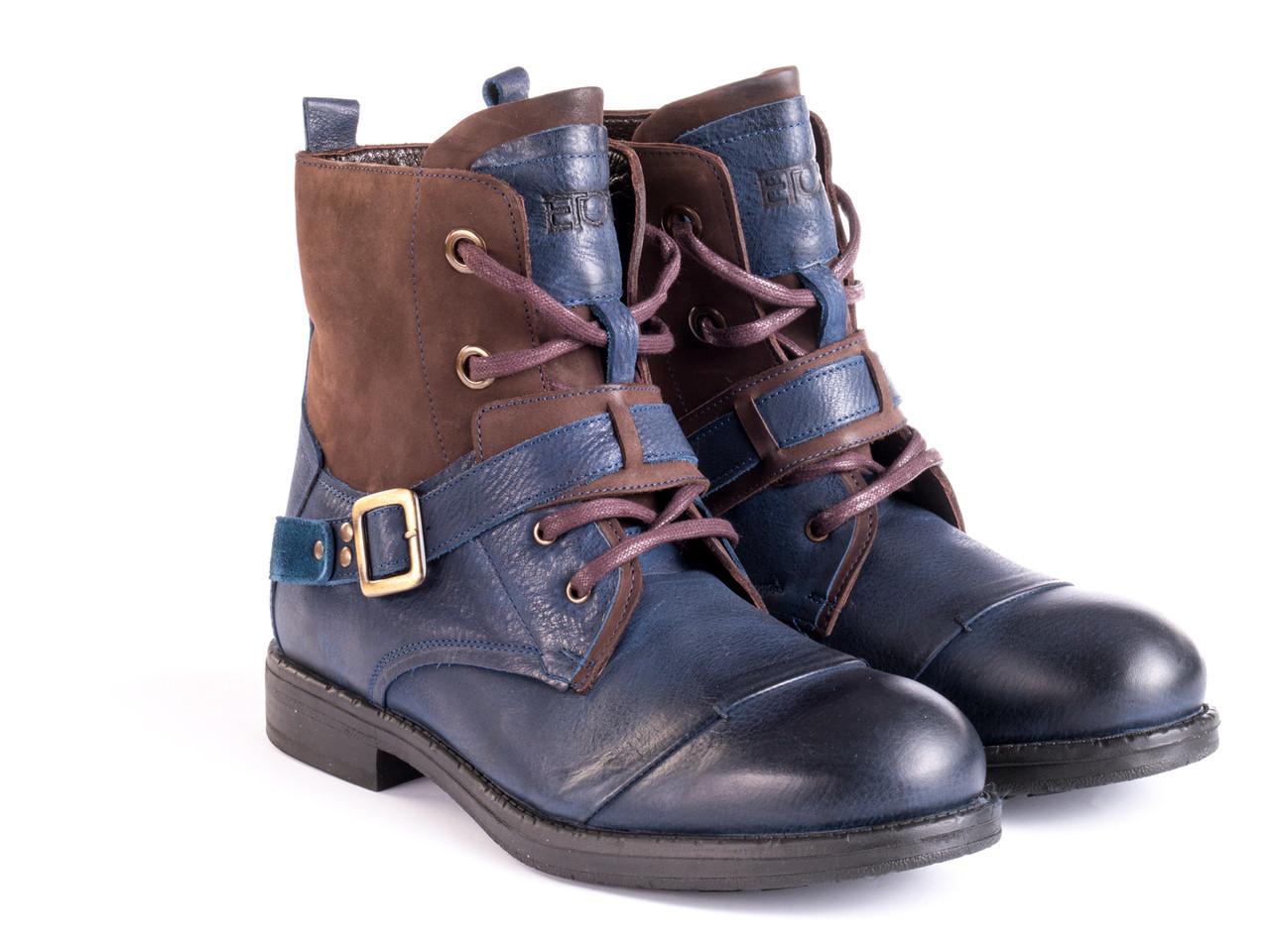 Ботинки Etor 14667-7386 42 синие