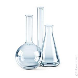 Колба лабораторная круглодонная 250 мл с тремя горловинами со шлифом, стекло, фото 2