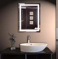 Зеркало с Led подсветкой настенное 53*68 см  d-54 Basic