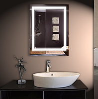 Зеркало с Led подсветкой настенное 50*80 см d-1 Basic