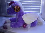 Мягкая плюшевая игрушка Лошадка Единорог с крылышками читает стишок, фото 5