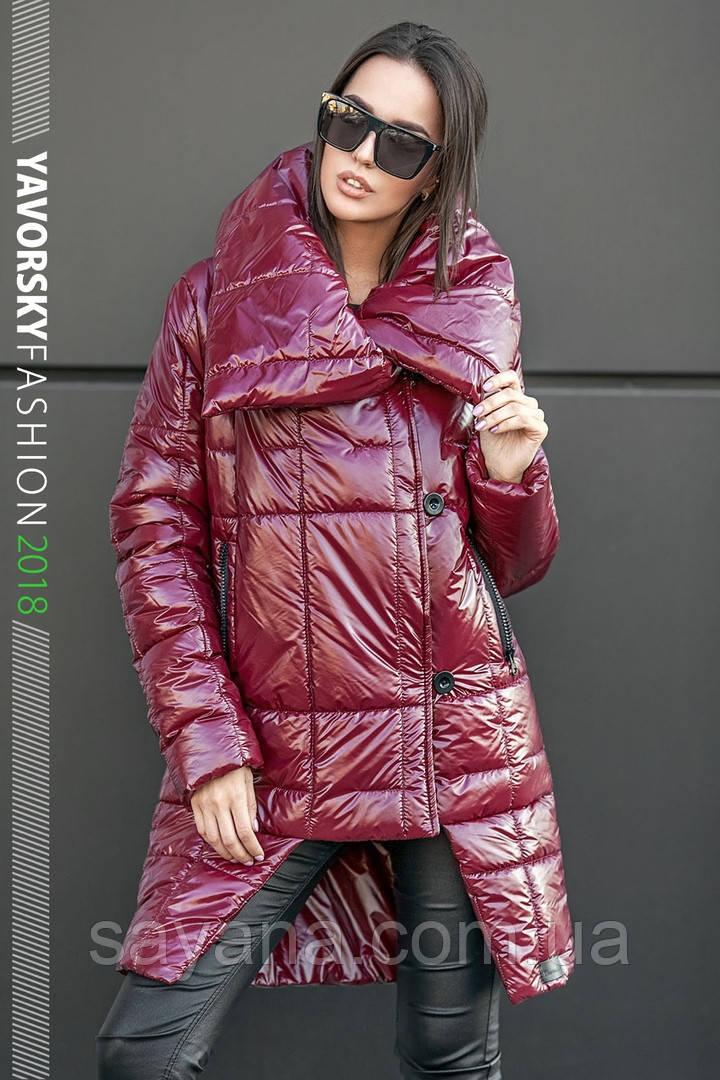 Женская стильная куртка «Катрин» из плащевки, в расцветках. ВС-1-0918