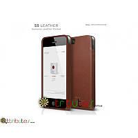 Чехол накладка iPhone 5 & 5s Elago S5 Genuine leather pocket brown