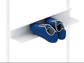 Полка для обуви Кольчуга (консольная система хранения) 606*140*90 мм Белый, фото 2