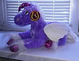 Мягкая плюшевая игрушка Лошадка Единорог с крылышками читает стишок, фото 3