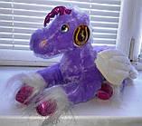 Мягкая плюшевая игрушка Лошадка Единорог с крылышками читает стишок, фото 4