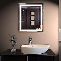 Зеркало со светодиодной подсветкой настенное 68*80 см d-3 Basic