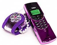 Телефон Funville Sparkle Girls в фиолетовой сумочке