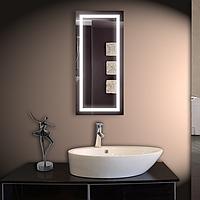 Зеркало со светодиодной подсветкой настенное 110*50 см d-60 Basic