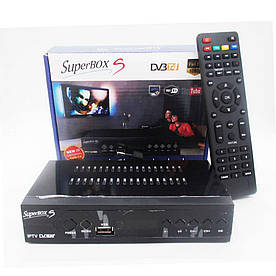 Тв тюнер Т2 SuperBOX S DVB Т4, WiFi, Full HD(ТелВид_SuperBOX*DVB-Т4)