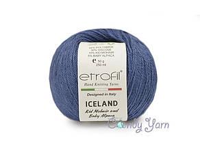 Etrofil Iceland Kid Mohair, Джинс №1015