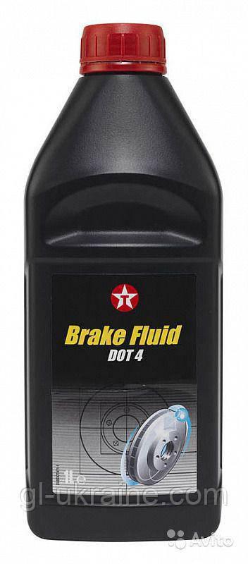 Тормозная жидкость BRAKE FLUID DOT-4, 1 л