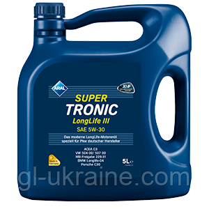 ARAL SUPER TRONIC Longlife III 5W-30, Моторное масло, 5 л