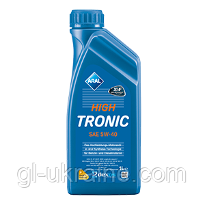 ARAL HighTronic 5W-40, Моторное масло 1 л