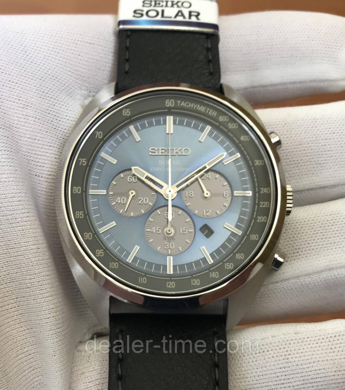 buy popular 52642 3a2db Часы Seiko SSC625P1 Solar Chronograph Tachymeter