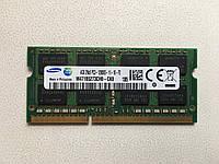 Оперативная память для ноутбука, so dimm, sodimm ddr3 pc3, 4 Гб 12800s 1600, фото 1