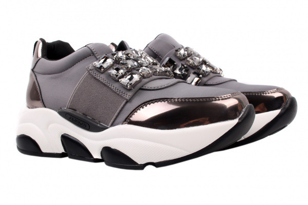 Туфли спорт Li Fexpert текстиль, цвет серый