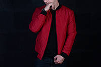 Мужская Куртка бордовая, фото 1