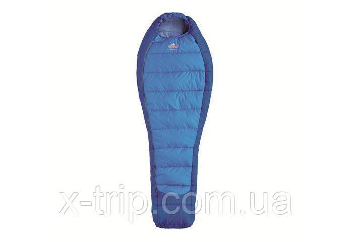 Спальный мешок Pinguin Mistral Синий, 195, Правая