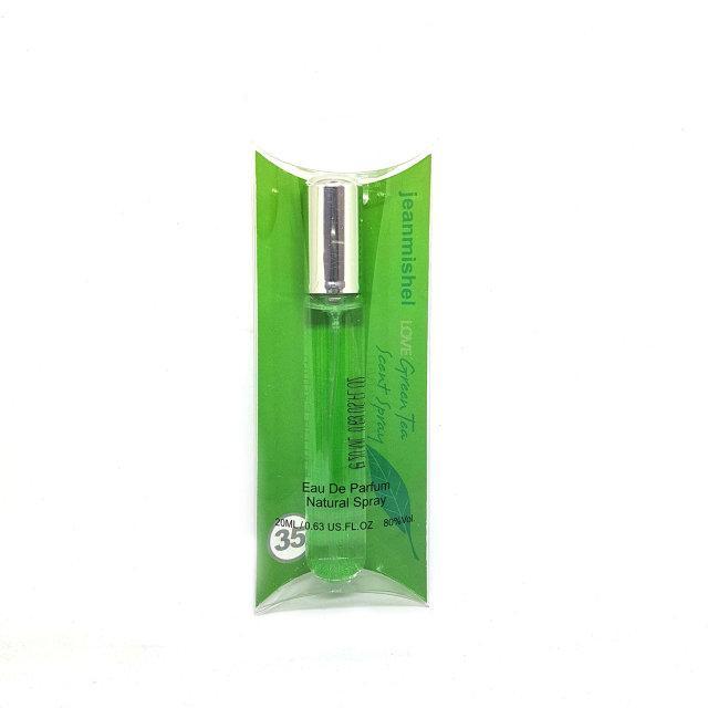 20 мл Мини-парфюм Jeanmishel Love Green Tea Scent Spray (ж) 35