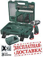 Аккумуляторная дрель-шуруповерт Metabo PowerMaxx BS + набор оснастки (Li-Ion10,8V; 2А/ч) 600080870