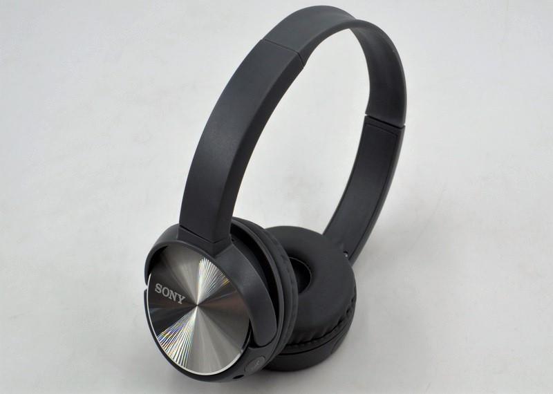 Гарнитура с микрофоном реплика Bluetooth наушники SONY MDR-XB400BY FM MP3 microSD/TF