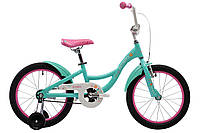 "Велосипед 18"" Pride AMELIA (AL) 18 мятно-рожевий 2018"