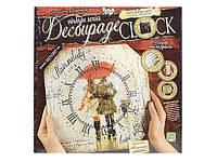 "Комплект креативного творчества ""Decoupage Clock"" с рамкой 5740, фото 1"