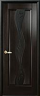 Двери межкомнатные Новый Стиль «Волна» венге new
