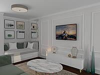 Дизайн интерьера - Квартира для молодой пары с двумя детьми в ЖК Автограф, фото 1