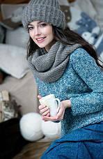 Как с помощью вязаной шапки создать модный образ