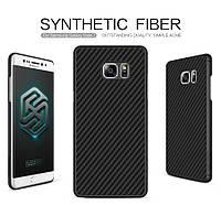 Накладка  пластиковая черная Nillkin Synthetic Fiber series для Samsung N935 Galaxy Note Fan Edition
