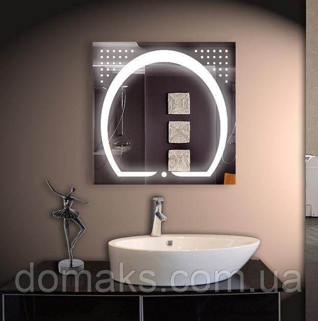 LED Зеркало для ванной 80*80 см Mara