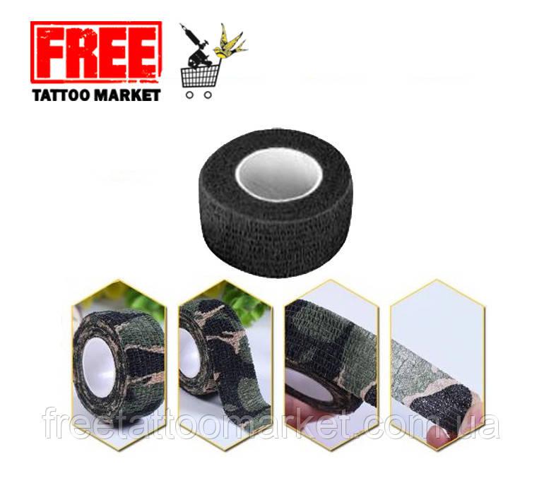 Бинт эластичный бандажный для держателя тату машинки