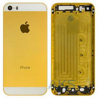 Корпус Apple iPhone 5S Gold-White