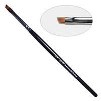 5D. Кисть для  китайской росписи  скошенная 4-s PNB, нейлон / Nail Art Brush slant 4-s, nylon