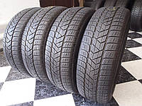 Шина бу 215/65/R16 Pirelli Scorpion Winter  Зима 6,42мм 2013г  205/215/225/55/60/65