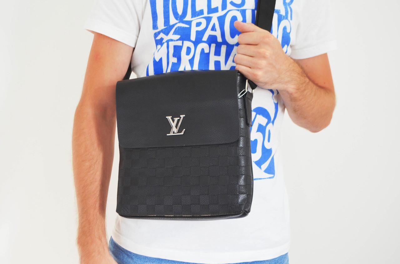 f5f5021bc229 Мужская сумка Louis Vuitton(луи витон) через плечо, дроп и опт, брендовая