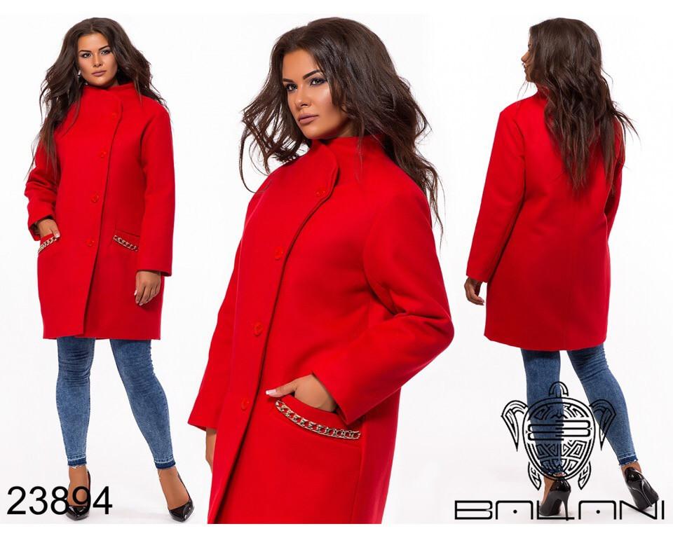 Пальто женское #195-5 Р.р
