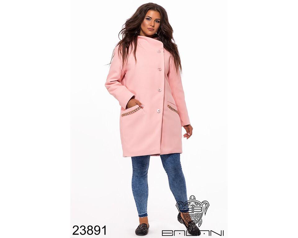 Пальто женское #195-3 Р.р 52