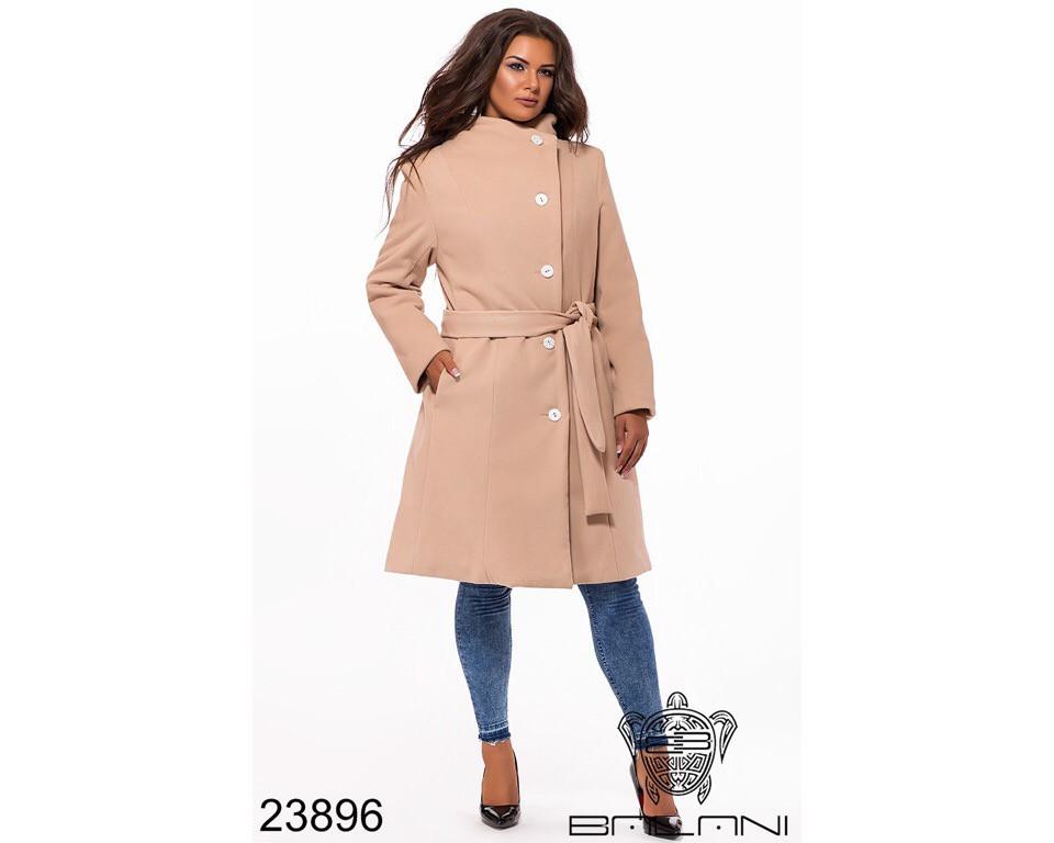 Пальто женское #196-1 Р.р 52