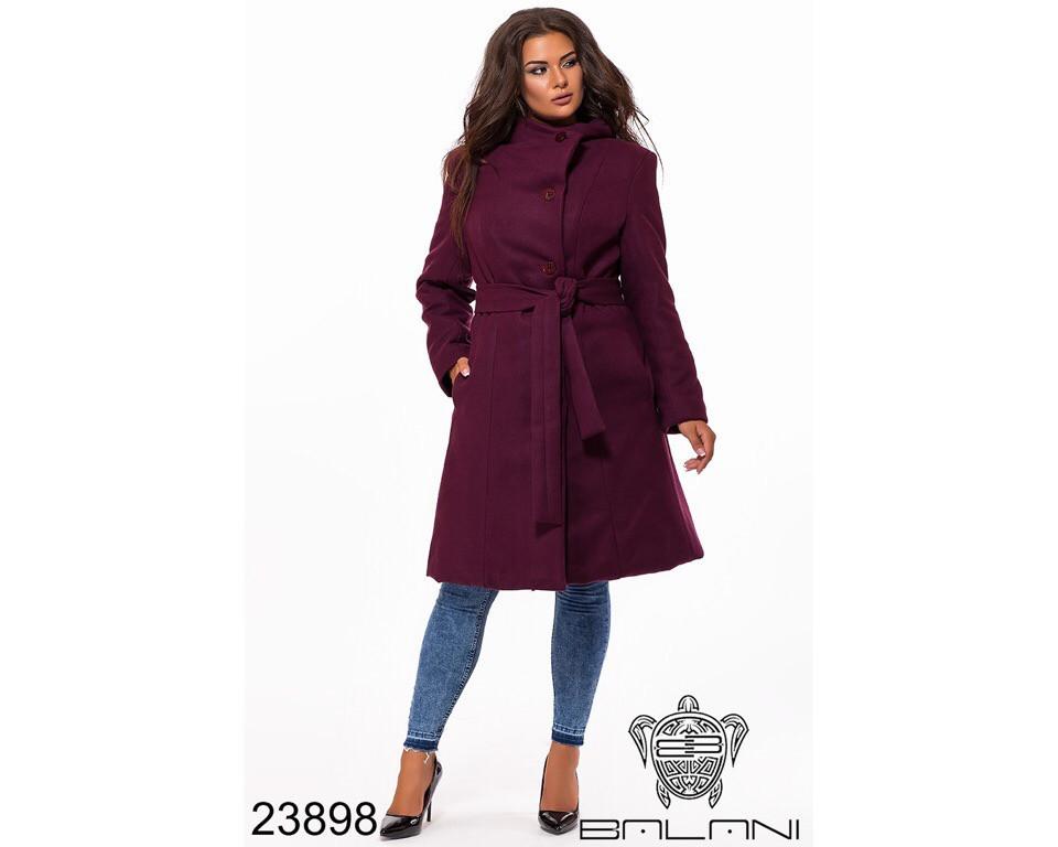 Пальто женское #196-3 Р.р