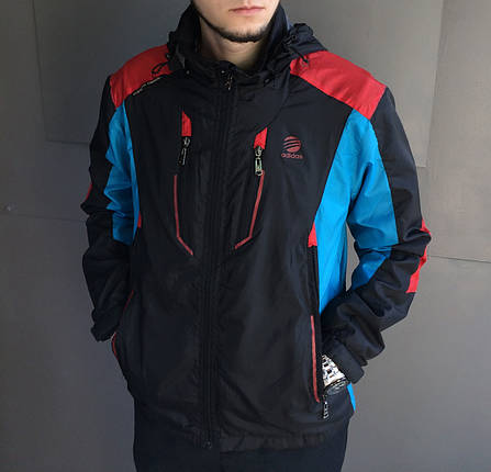 Ветровка мужская Adidas.Плащевка, фото 2