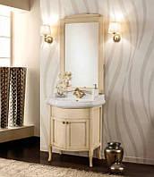 Классическая мебель для ванной комнаты 65 см Gallo Wood Camelia patinato avorio Италия