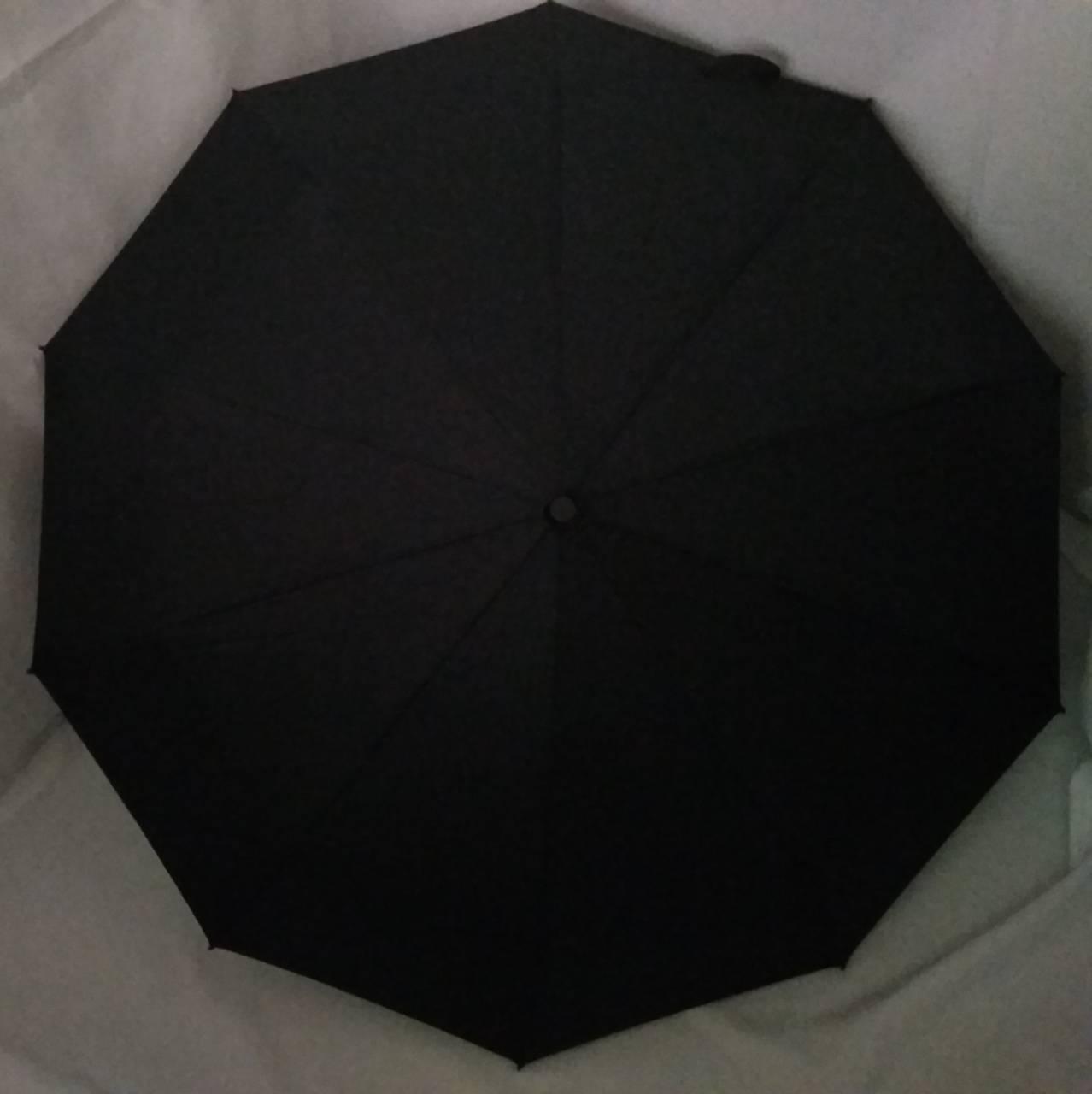 """Зонт автомат мужской на 10 спиц """"WE-DA"""" с ручкой """"крюк"""" и системой антиветер / Зонт антиветер"""
